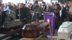 Church Service Held For Victims Of Siberian Mall Fire