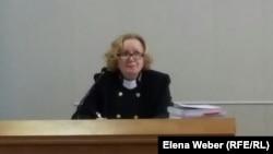 Судья Наталья Щеглетова. Теміртау, 19 қараша 2015 жыл.