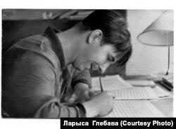 Яўген Глебаў за працай