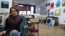 În atelierul Cezarei Kolesnik