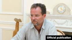"""Майкл Андерсен, журналист, один из авторов фильма """" Резня в Узбекистане: предсказано, прощено, забыто""""."""
