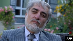 Абдулла Абдулла, Ауғанстан президенттігіне кандидат.