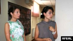 ეკა სირაძე (მარჯვნივ) და ანა მიქელაძე