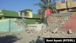 اثار الدمار في منازل شروين