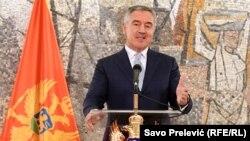 Milo Đukanović na konferenciji za medije 16. juna