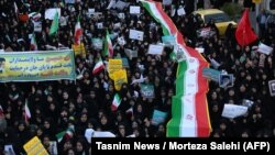 İranda hökumətyönlü nümayiş, 3 yanvar, 2018-ci il