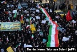 Проурядова акція уряду у місті Неджефабад, Іран, 3 січня 2017 року