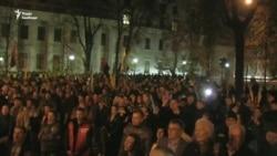 Протести у Києві: люди рушили пікетувати Адміністрацію президента (відео)