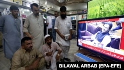 Pakistan's high court has banned Indian content on the country's terrestrial, satellite, and cable TV (file photo).