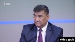 Депутат Жогорку Кенеша Искендер Матраимов.