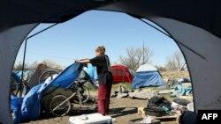 Sakramento çadır şəhərciyi, 10 mart 2009