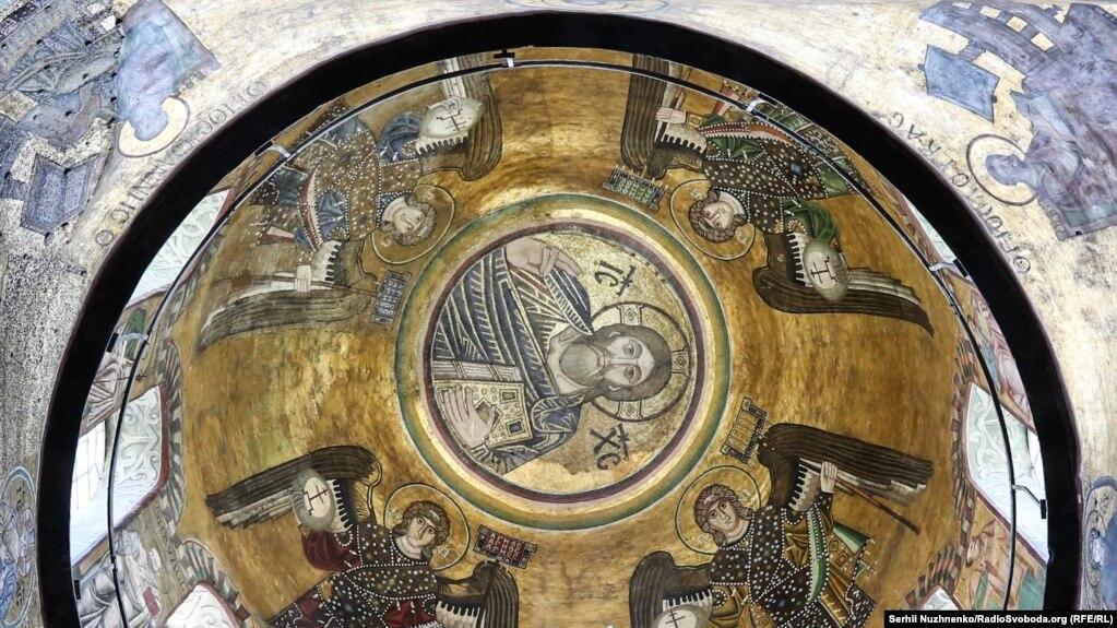 Купол храму Святої Софії: вишуканість доби Київської Русі