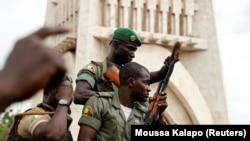 Vojska na ulicama Bamaka nakon državnog udara, 18. avgust 2020.