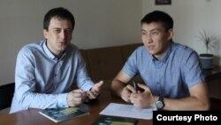 Тимур Шайхутдинов и Урмат Казакбаев.