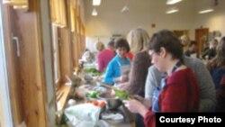 Norveçin Bergen Universitetində Azərbaycan mətbəxi kursu, fevral 2006