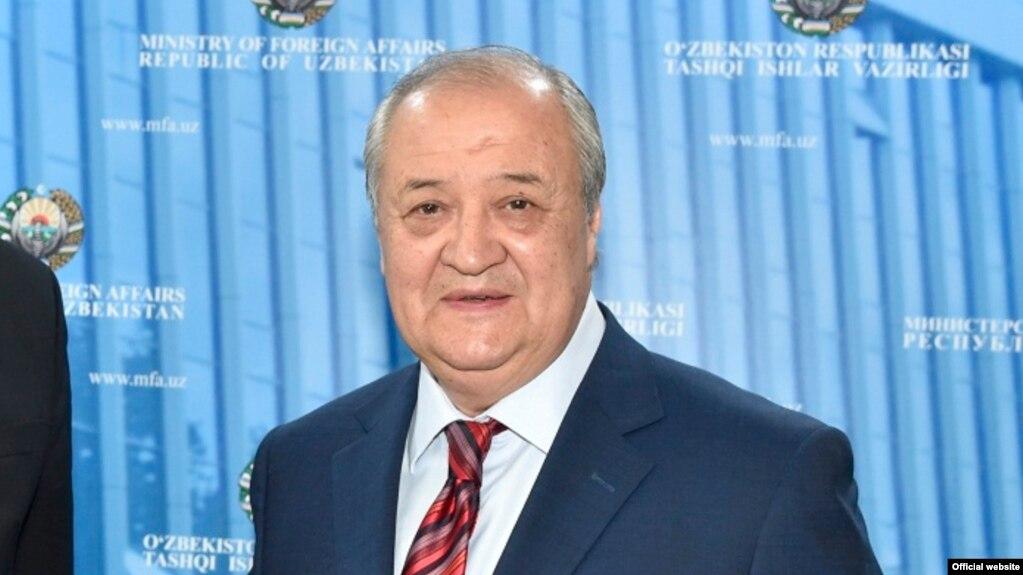 Uzbekistan - Uzbek Foreign Minister Abdulaziz Komilov met with EU Special Representative on CA Piter Burian in Tashkent