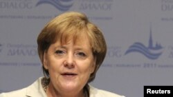 Канцлер Ангела Меркел.