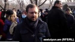 Представитель АРФ «Дашнакцутюн» Гегам Манукян
