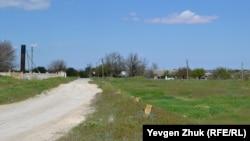 Выезд из села с улицы Виноградной