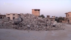 Residents Slowly Return To Devastated Syrian Town