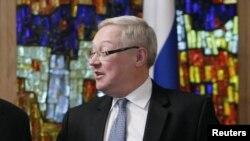 سرگئی ریابکوف، معاون وزیر خارجه روسی.