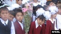 Бишкектик мектеп окуучулары