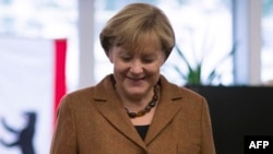 German Chancellor Angela Merkel has been reelected to a third consecutive term.