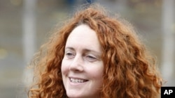 News International Chief Executive, Rebekah Brooks
