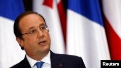 Франция президенті Франсуа Олланд.