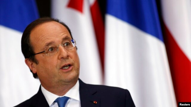 France's President Francois Hollande says the European Union needs to change its focus and reduce its role.
