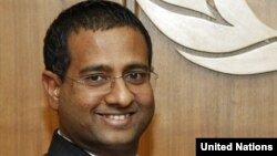 UN human rights investigator Ahmed Shaheed
