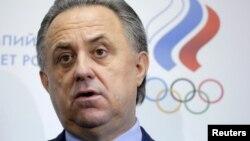 Russian Sports Minister Vitaly Mutko (file photo)