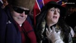 У Нью-Йорку протестували проти музикантів, які підтримують агресію Росії проти України