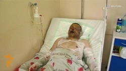 Wounded Miner Describes Disaster In Donetsk
