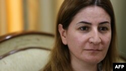 Lawmaker Vian Dakhil was in Washington to testify at a Senate subcommittee hearing on the Islamic State group. (file photo)