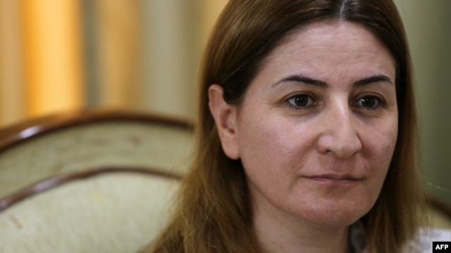 Lawmaker Vian Dakhil says she will return to the Iraqi parliament once she is fully recovered from injuries suffered in a helicopter crash on Mount Sinjar in August.