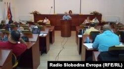 Седница на Советот на Општина Битола.