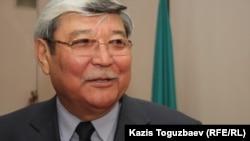Купесбай Жампиисов, истец по делу оппозиционной газеты «Саясат алаңы». Алматы, 18 марта 2014 года.