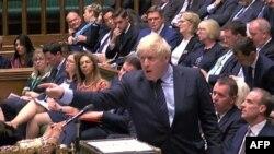 Boris Johnson u Parlamentu Velike Britanije