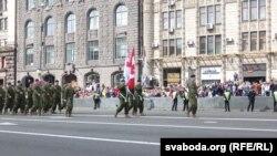 უკრაინის დამოუკიდებლობის 26-ე წლისთავისადმი მიძღვნილი სამხედრო აღლუმი