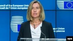 Федерика Могерини, ЕО-ның сыртқы саясат жөніндегі жоғарғы комиссары.