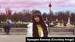 Адриана Кюпар из Пскова, живущая в Англии.