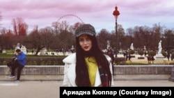 "Adriana Kyupar: ""I feel very good here."""