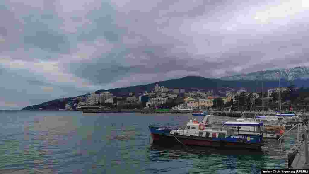 «Парковка» прогулочных катеров и яхт