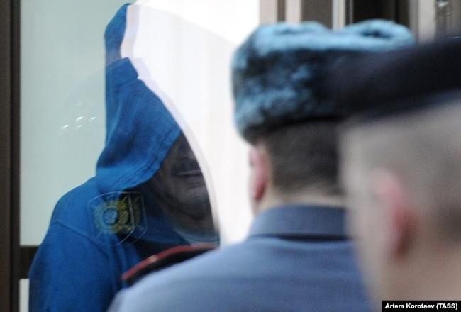Оглашение приговора Владимиру Барсукову (Кумарину) в Мосгорсуде, 2012