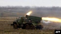 Установка БМ-21 «Град» Збройних сил Росії, ілюстраційне фото