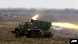 Сыстэма залпавага агню БМ-21 Град