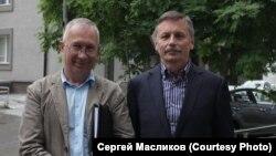 Сергей Масликов с адвокатом Александром Михайловым