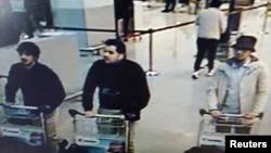 Зображення підозрюваних у нападі в аеропорту Брюсселя з камер спостереження