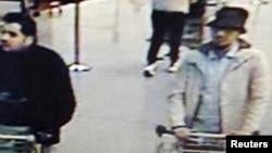 Наджим Лаашрау в аэропорту Завентем в день теракта